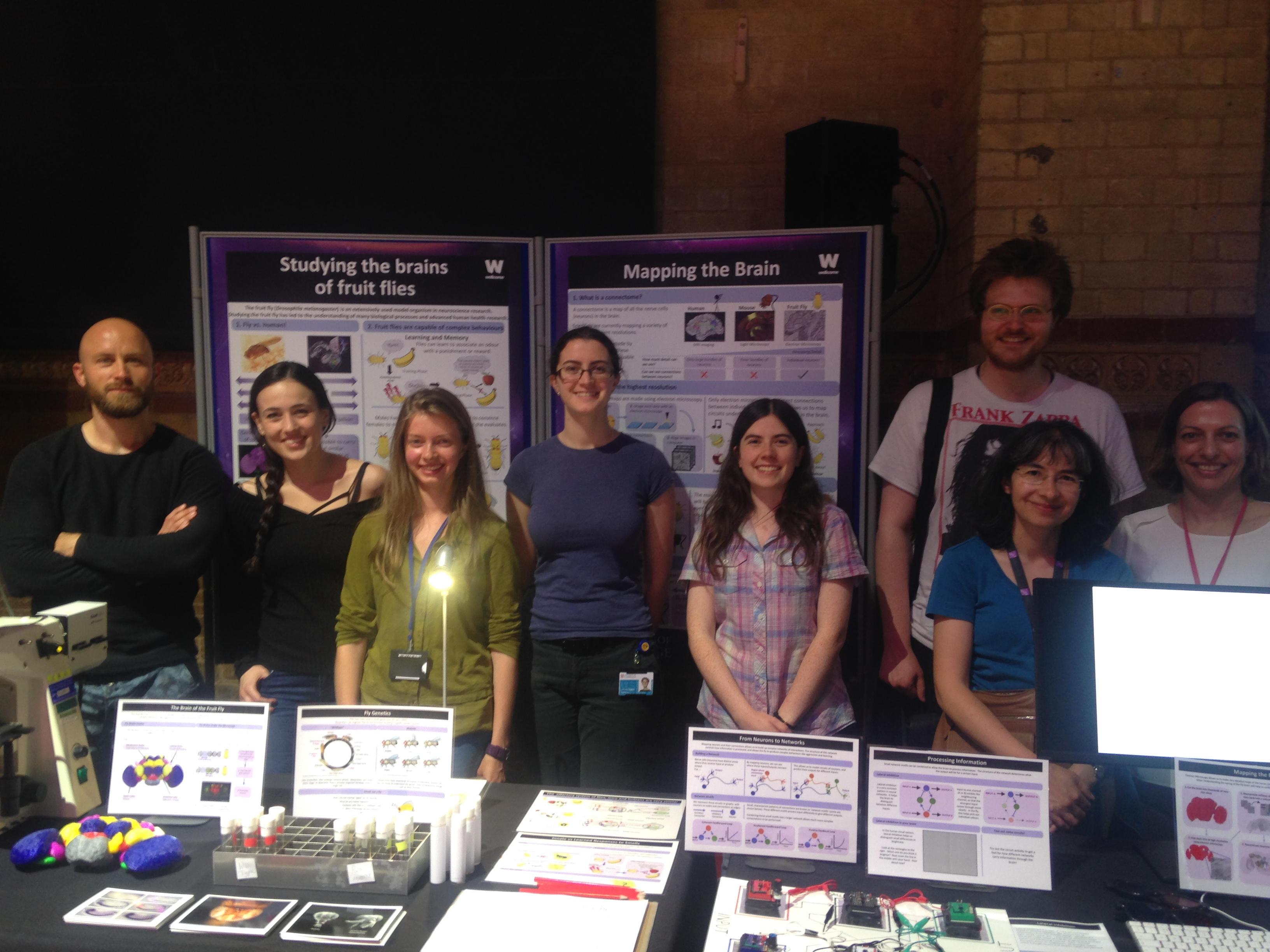 Connectomics group at BrainFest 2017