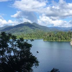 Kenyir Lake and surrounding Taman Negara rainforest
