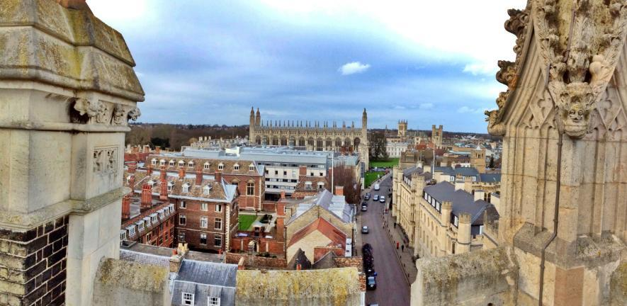 View of Cambridge from on high