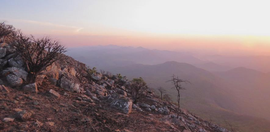 Mountains in Northern Mozambique by Gabriel Jamie
